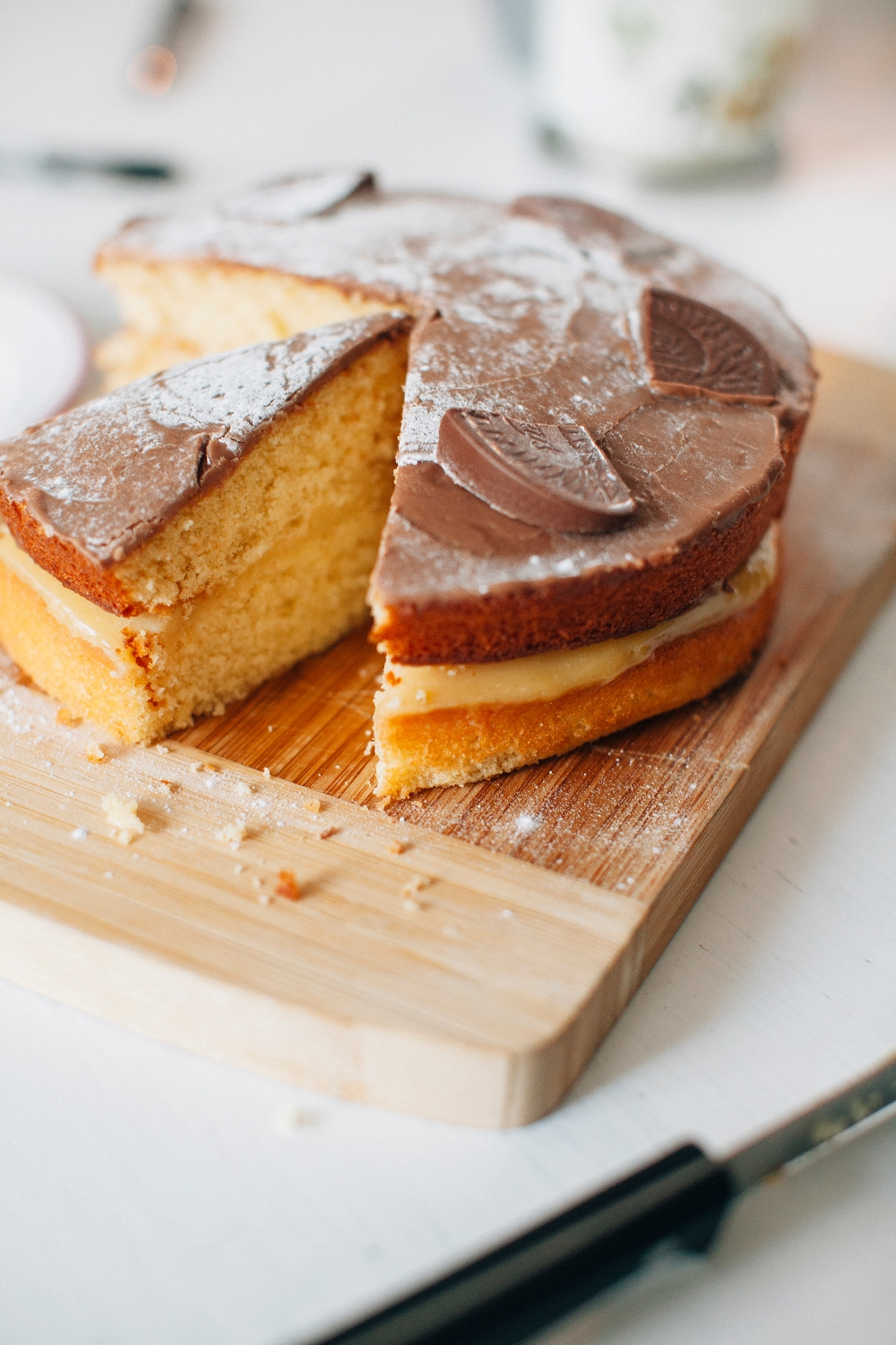 Chocolate Orange Boston Cream Pie Recipe! | LA-COCO-NOIRE